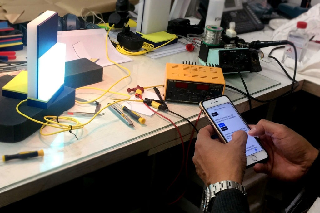 prototype fonctionnel électronique intégrée Atelier Pras