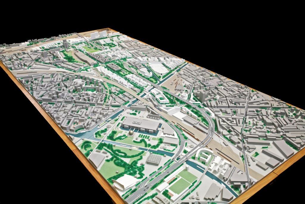 maquette urbanisme Paris