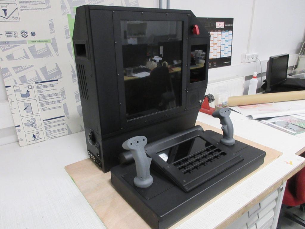 prototype poste de tir échelle1 Atelier Pras