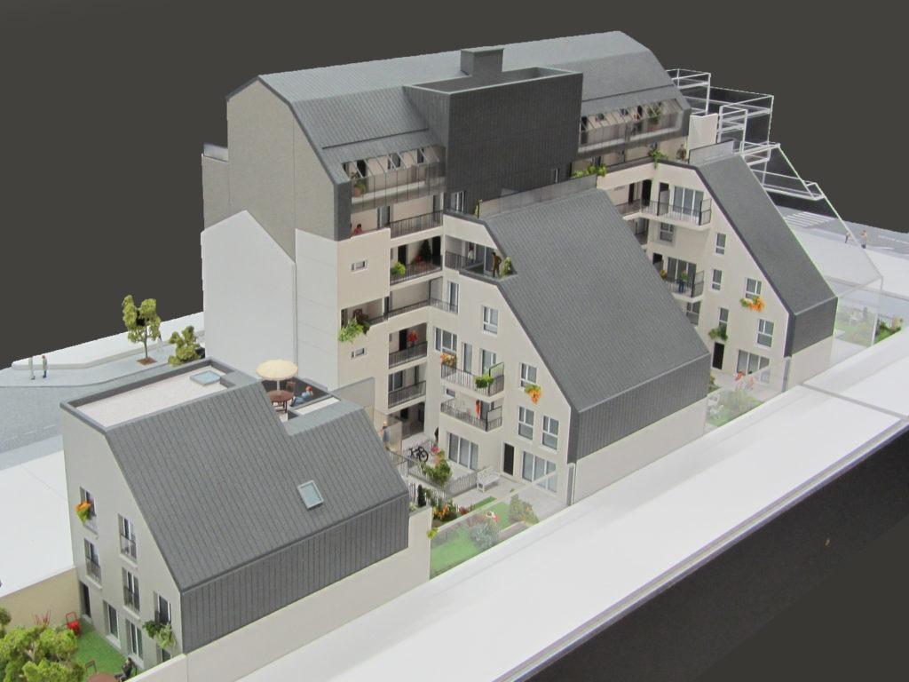 maquette architecture promotion