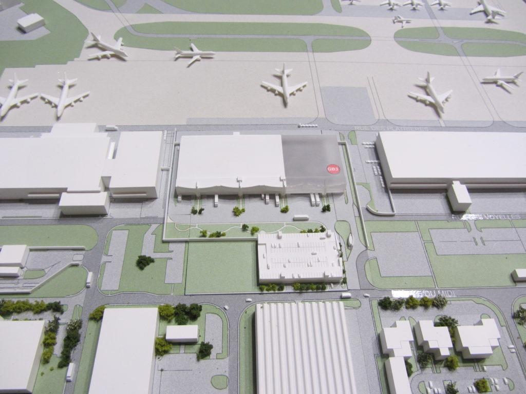 maquette aéroport