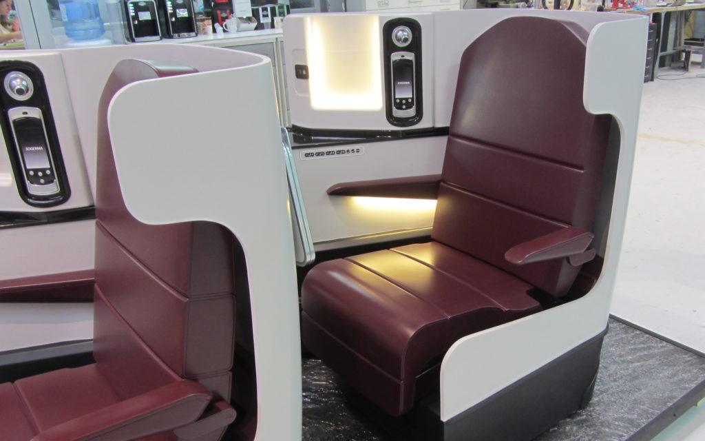 sièges d'avion échelle1 Atelier Pras