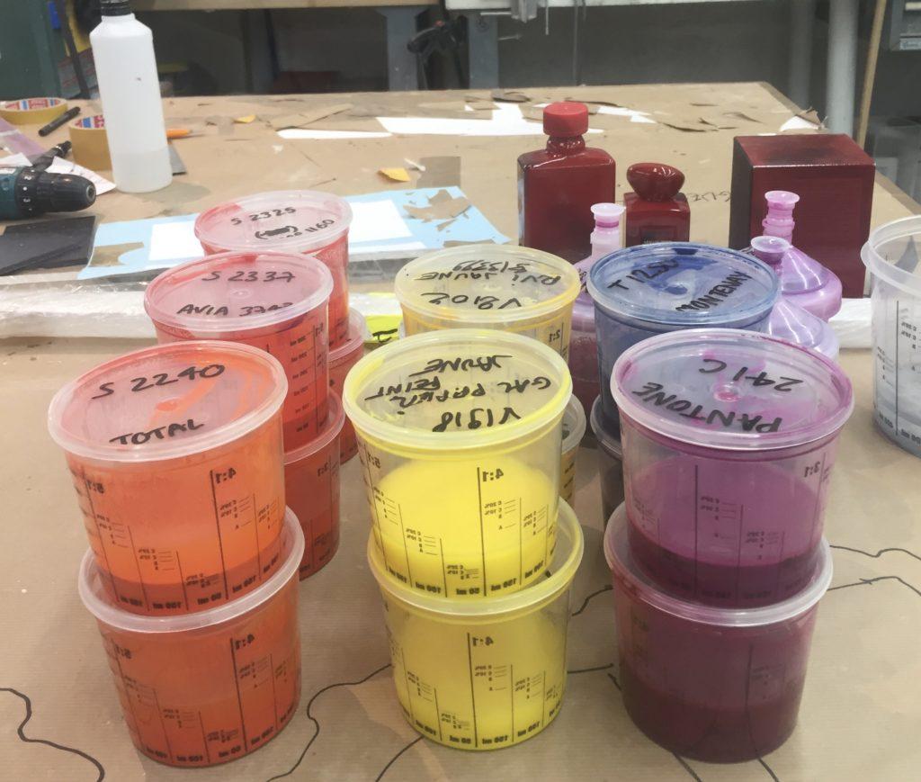 recherche couleur Atelier Pras