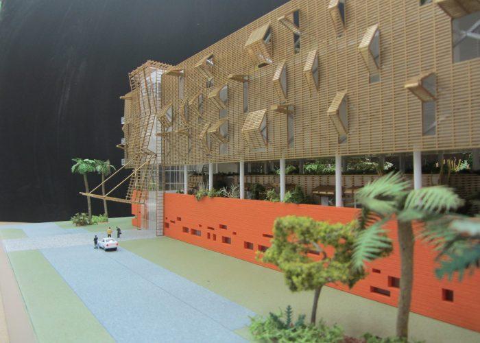 Maquette d'architecture par Atelier Pras